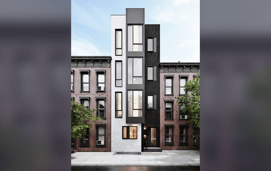 A rendering by Stamm Development of a five-unit condo project planned for 1513 Christian Street (Stamm Development)