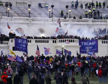 Pro-Trump insurrectionists storm the Capitol
