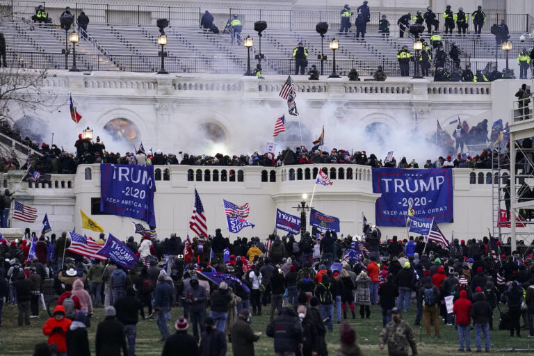 Pro-Trump insurrectionists storm the Capitol