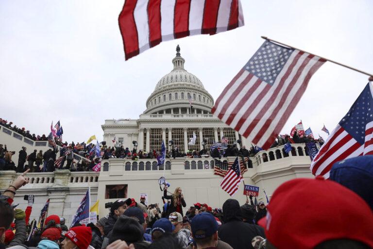 Pro-Trump insurrectionists storm the U.S. Capitol