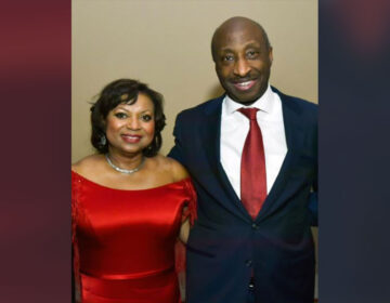 Andréa W. and Kenneth C. Frazier. (Photograph courtesy of the American Heart Association)