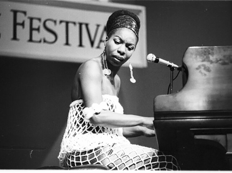 Nina Simone in American Masters: How It Feels to be Free