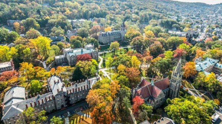 Lehigh University's campus in Bethlehem, Pa. (Lehigh U.)