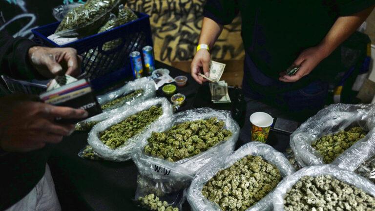 Clock running down for NJ's troubled marijuana legislation. (AP Photo/Richard Vogel)