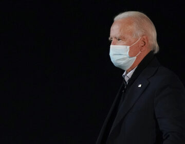 President-elect Joe Biden wearing a face mask