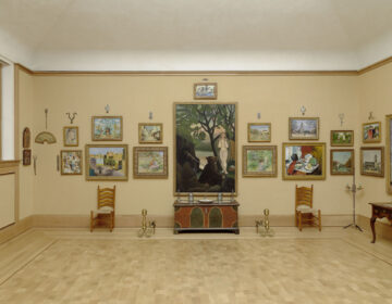 Room 23 at the Barnes Foundation in Philadelphia.