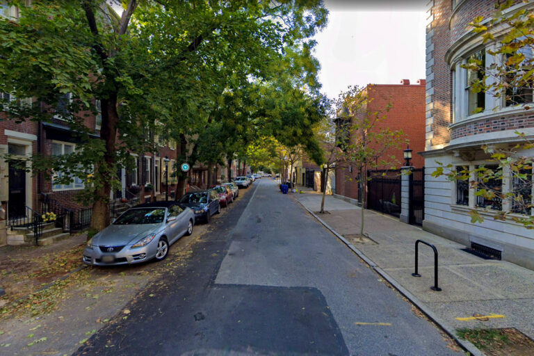 Delancey Place, an area of Philadelphia with many high-end rowhomes