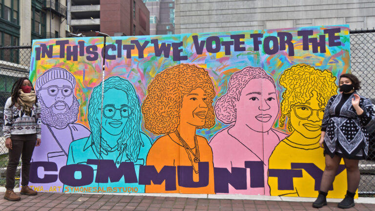 Mural in Philly