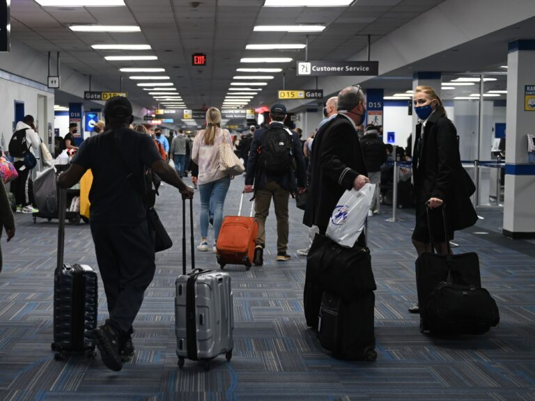 Dulles International Airport last month. The CDC will require all air passengers entering the U.S. to provide a negative COVID-19 test before boarding their flight.