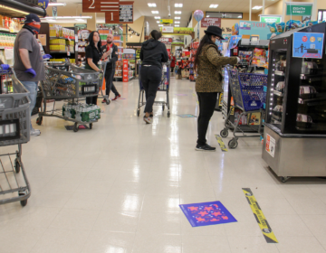 The Whitman Plaza ShopRite (Emma Lee/WHYY)