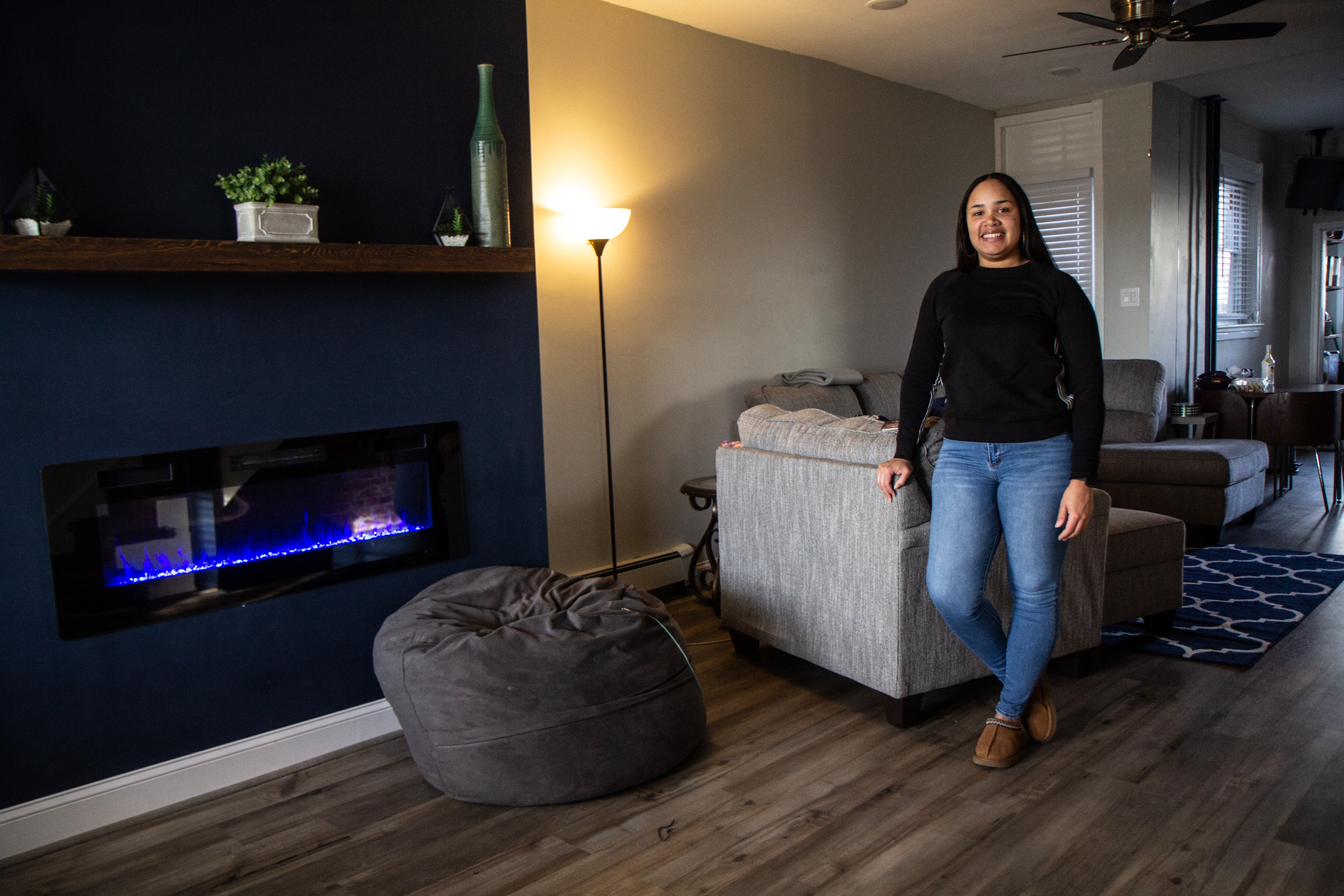 Jessica Ramos at her home in West Philadelphia.