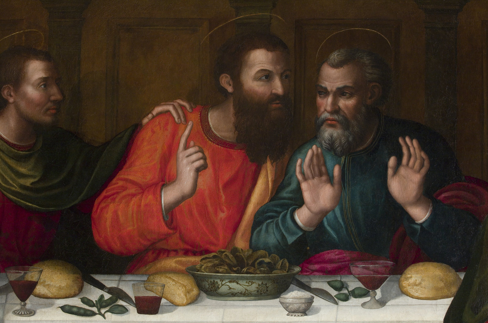 Nelli's Apostles restored, possibly showing Thomas and Peter.