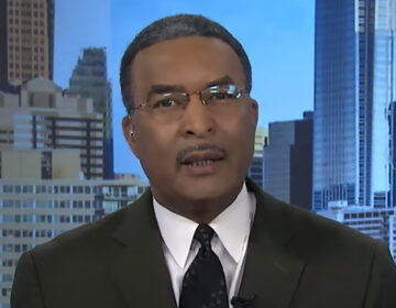 CBS 3 evening anchor Ukee Washington became emotional thanking viewers and colleagues for their support.