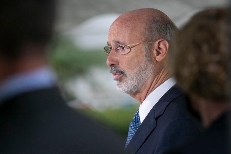 Pennsylvania Gov. Tom Wolf (Alejandro A. Alvarez/Philadelphia Inquirer)