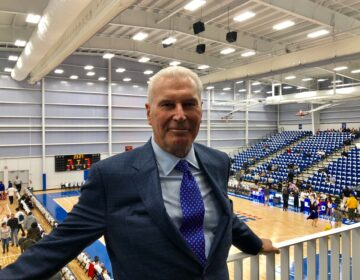 Wilmington Mayor Mike Purzycki is recovering from bypass surgery but begins his second term Tuesday. (Cris Barrish/WHYY)