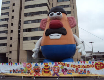 Mr. Potato Head Celebrates a Birthday in Lima, Peru. (Wikimedia Commons)