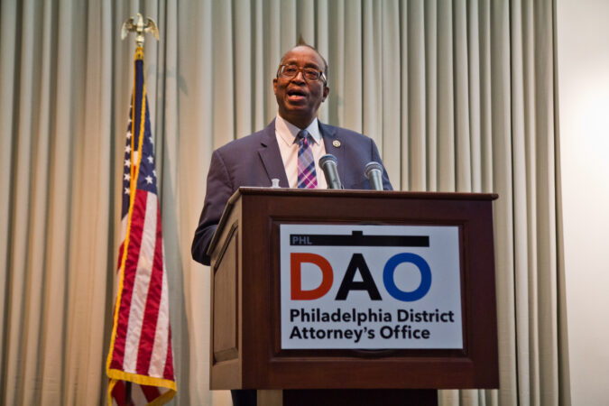 First Assistant to the Philadelphia District Attorney, Robert Listenbee, spoke at a panel to highlight reforms made to juvenile justice policies in the city on February 8, 2021. (Kimberly Paynter/WHYY)