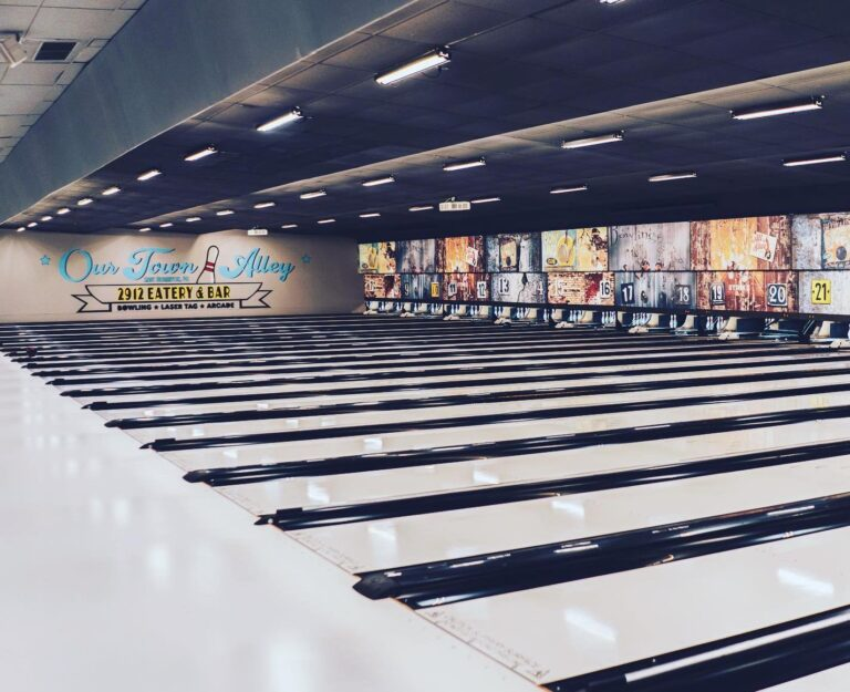 Our Town bowling alley in East Norriton, Pa. (Our Town/Facebook)
