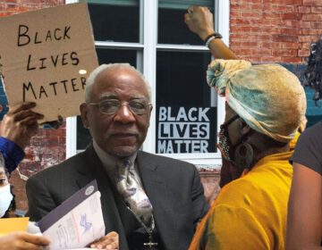 (Background: Conrad Benner for WHYY; Emma Lee and Kimberly Paynter / WHYY; Courtesy of Dr. Ala Stanford)