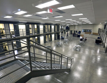FILE – This June 1, 2018, file photo shows a housing unit in the west section of the State Correctional Institution at Phoenix in Collegeville, Pa. (AP Photo/Jacqueline Larma, File)