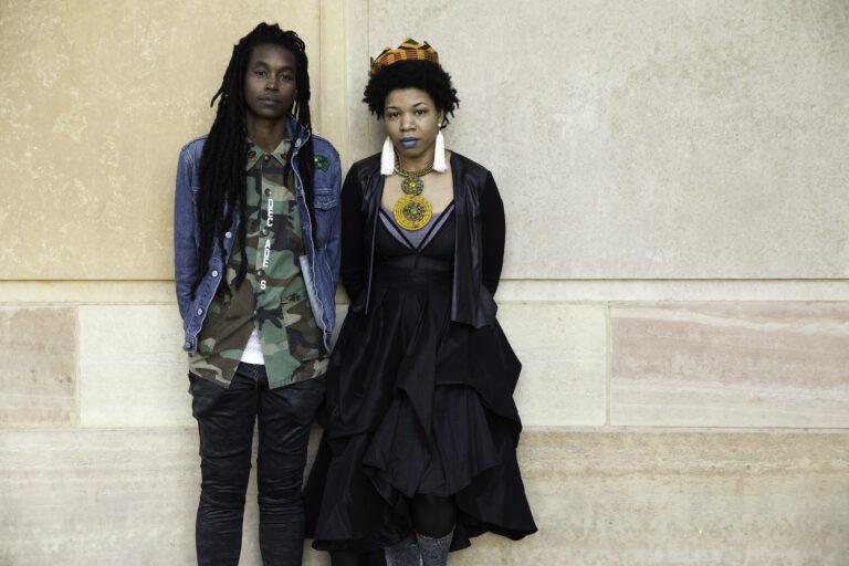 Camae Ayewa and Rasheedah Phillips