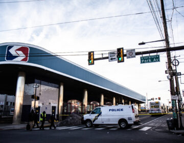Eight people were shot on Feb. 17 at the Olney Transportation Center in Philadelphia. (Kimberly Paynter/WHYY)