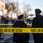 Seven people were shot Feb. 17 at the Olney Transportation Center in Philadelphia. (Kimberly Paynter/WHYY)