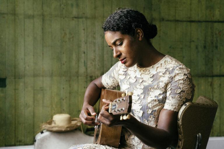Leyla McCalla, narrator of the radio program Kanaval: Haitian Rhythms (Courtesy of Rush Jagoe)
