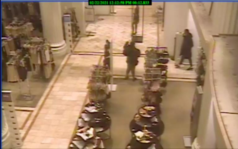 Police said the assault took place Sunday inside the Macy's on 1300 Walnut Street. (NBC10)