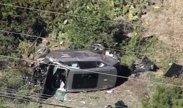 Tiger Woods was injured Tuesday in a vehicle rollover in Los Angeles County, authorities said. (NBC10)