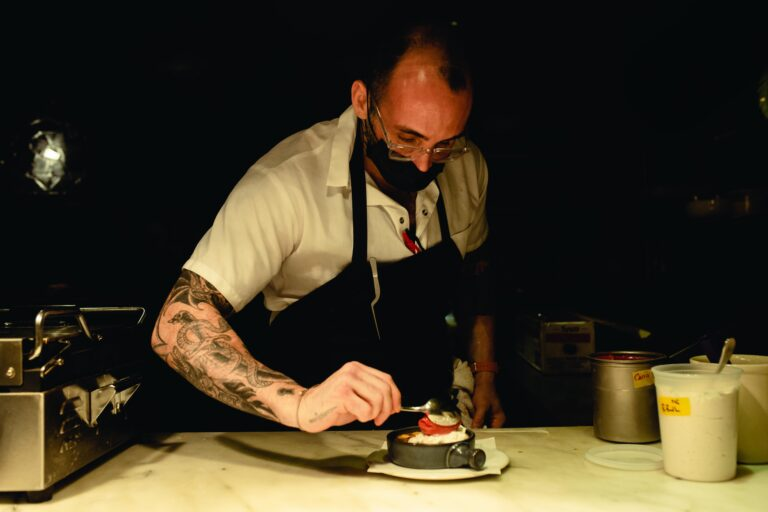 Philadelphia chef Christopher Kearse is used to limited taste and smell. He lost those senses during a car accident as a teenager. (Courtesy of Christopher Kearse)