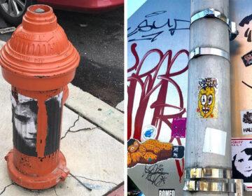 The creators say the sticker has even spread beyond Philadelphia INSTAGRAM / @ANTIFLOWERSHOWMOVEMENT