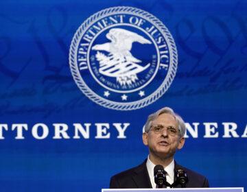 Merrick Garland, President Biden's nominee for U.S. attorney general, speaks in Wilmington, Del., on Jan. 7. (Susan Walsh/AP)