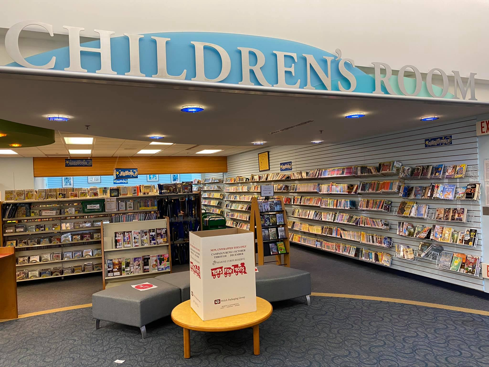 The Children's Room at Chester County Library