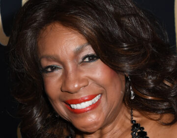 Singer Mary Wilson, from The Supremes