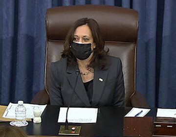 During the marathon Senate session on Thursday into Friday, Vice President Harris had to cast her first tiebreaking vote in the divided Senate