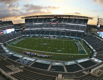 Interior of Lincoln Financial Field