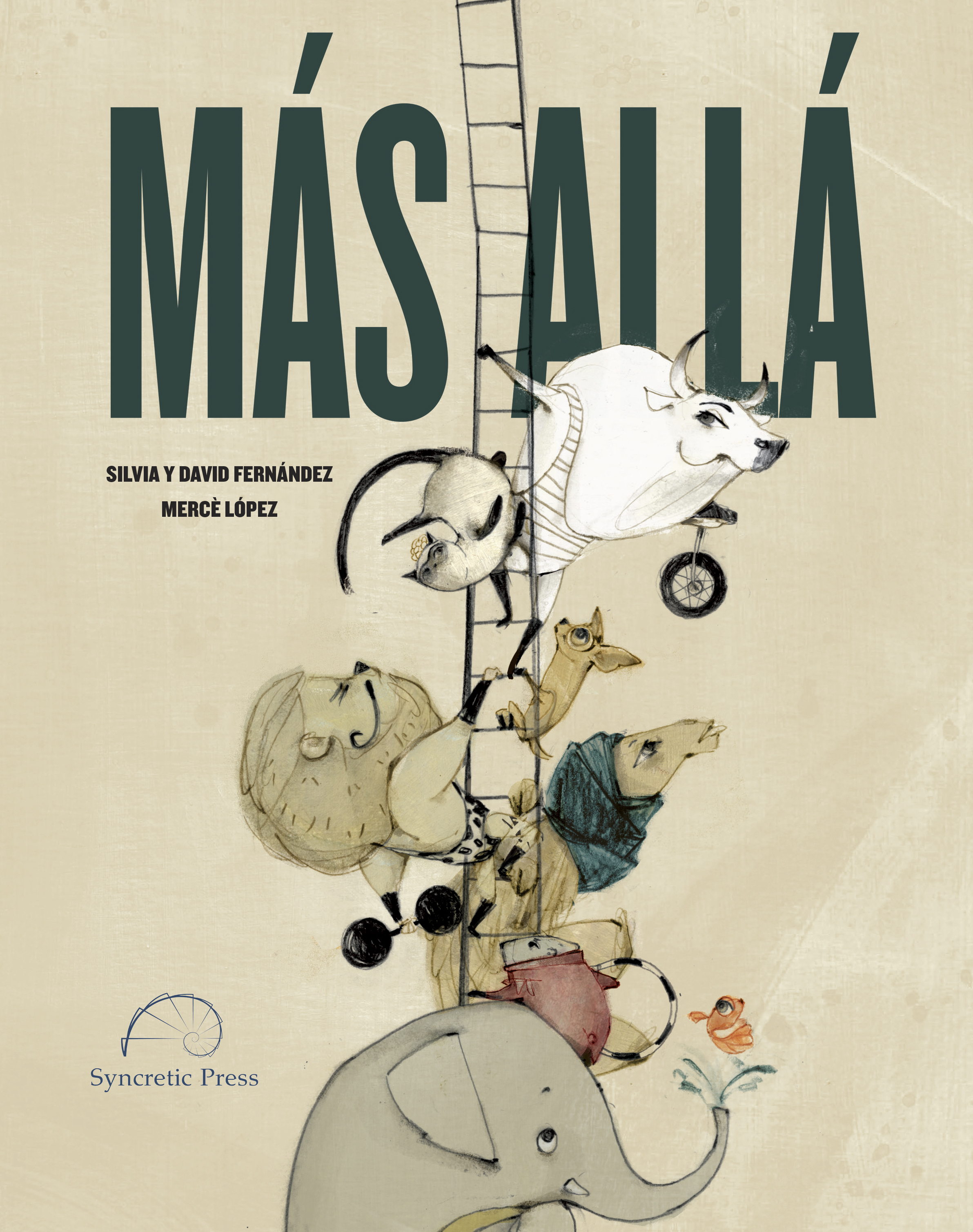 """The cover of """"Más Allá"""""""