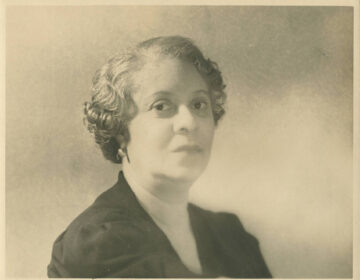 Portrait of Florence Price (University of Arkansas Libraries, Fayetteville 	 Florence Beatrice Smith Price Papers Addendum)