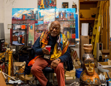 Philadelphia artist Leroy Johnson