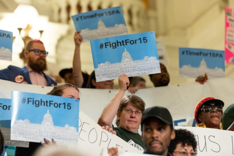 minimum wage - fight for 15