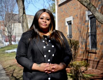 Tawandaa Austin is a community health worker at Penn Medicine. (Emma Lee/WHYY)