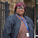 Keta White is a health care worker in Philadelphia's Mt. Airy neighborhood. (Kimberly Paynter/WHYY)