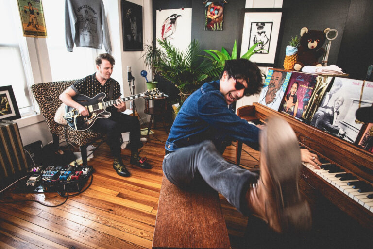 Adam Weiner (right) and Will Donnelly of Low Cut Connie . (Emad Hasan0