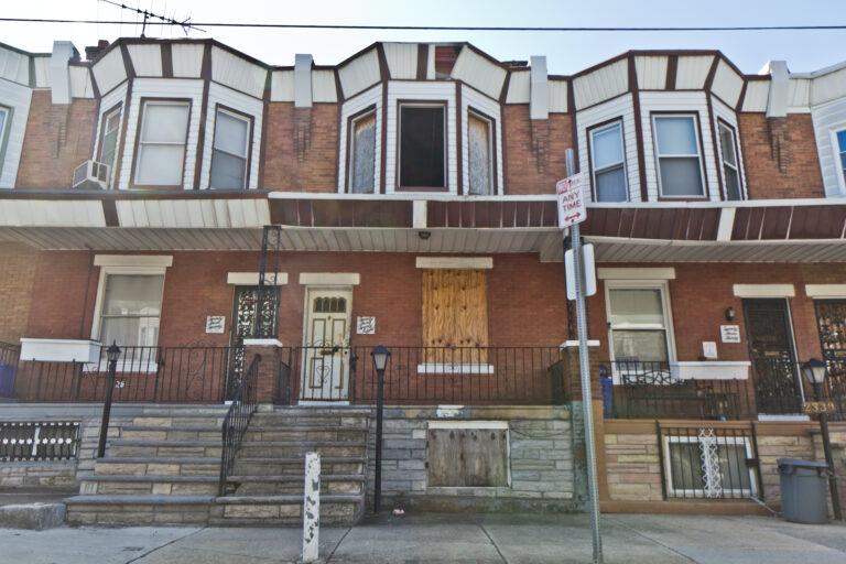 The 2300 block of Harold Street