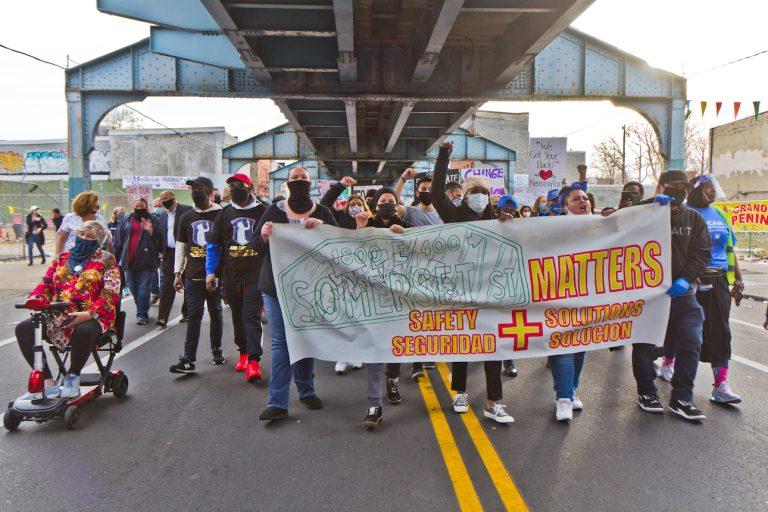 Kensington residents protest Somerset Station's closure