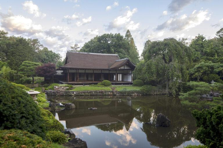 Shofuso Japanese House and Garden in Fairmount Park