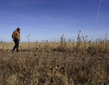Rod Bradshaw, pictured in January 2021, says he's the last Black farmer in Hodgeman County, Kan. Agriculture Secretary Tom Vilsack talked with NPR about debt relief coming for Black farmers. (Charlie Riedel/AP Photo)