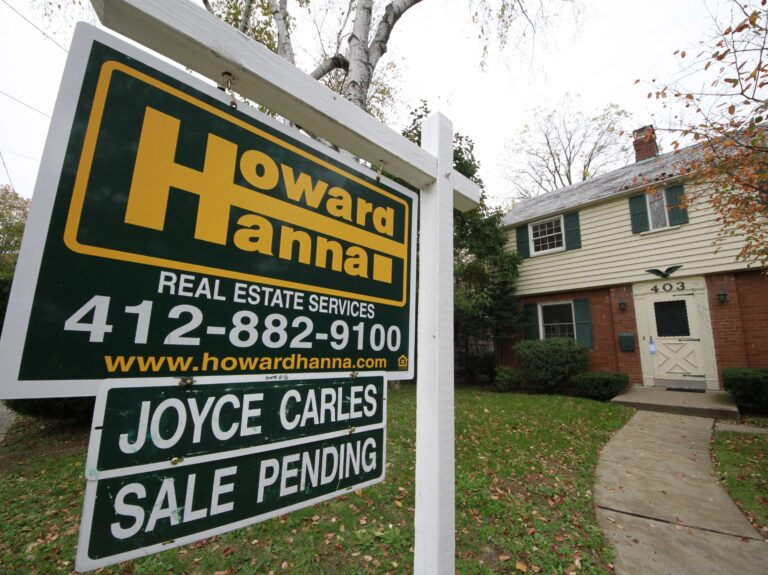 A record low number of homes for sale is pushing up prices and making it harder for first-time buyers to afford homeownership. (Gene J. Puskar/AP)