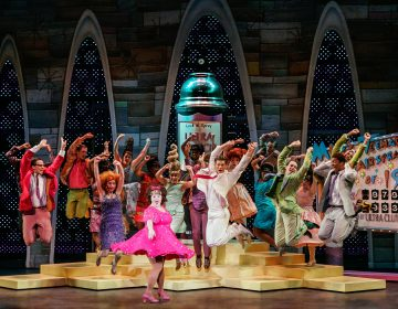 Performance of the play 'Hairspray' at the Kimmel Center